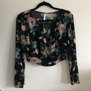 NWOT Crop top by Target size S
